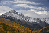 Mount Sneffels with a Dusting of Snow in the Fall