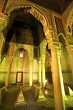 Saadian Tombs  UNESCO World Heritage Site  Marrakech  Morocco  North Africa  Africa