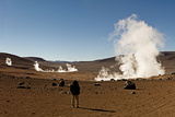 The Sol De Manana Geysers  a Geothermal Field at a Height of 5000 Metres  Bolivia  South America