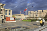 City Hall Gardens  Le Havre  Normandy  France  Europe