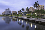 Skyline of West Palm Beach  Florida  United States of America  North America