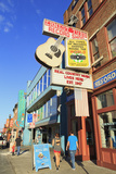 Music Store on Broadway Street  Nashville  Tennessee  United States of America  North America