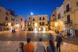 Town Piazza  Bari  Puglia  Italy  Europe