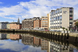 Morrison's Quay on the River Lee  Cork City  County Cork  Munster  Republic of Ireland  Europe