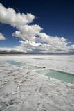 Salinas Grandes, Jujuy Province, Argentina, South America Papier Photo par Yadid Levy