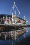 Millennium Stadium  Cardiff  Wales  United Kingdom  Europe