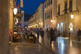 The Stradun  UNESCO World Heritage Site  Dubrovnik  Croatia  Europe