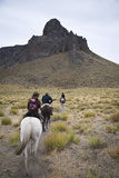 Horseback Riding  Patagonia  Argentina  South America