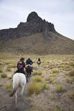 Horseback Riding  Patagonia  Argentina  South America