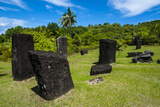 Basalt Monoliths known as Badrulchau  Island of Babeldoab  Palau  Central Pacific  Pacific