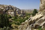 Fairy Chimneys Rock Formation Near Goreme  Cappadocia  Anatolia  Turkey  Asia Minor  Eurasia