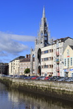 Trinity Church and River Lee  Cork City  County Cork  Munster  Republic of Ireland  Europe