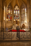 A Small Chapel Inside Vendome Abbey  Loir-Et-Cher  Centre  France  Europe