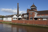Harveys Brewery on River Ouse  Lewes  East Sussex  England  United Kingdom  Europe