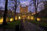 Gatehouse  Durham Castle  University College  Durham  England  United Kingdom  Europe
