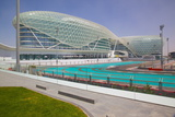 Viceroy Hotel and Formula 1 Racetrack  Yas Island  Abu Dhabi  United Arab Emirates  Middle East