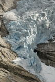 Briksdal Glacier (Briksdalsbreen)  Western Josterdalsbreen  Olden  Norway  Scandinavia  Europe