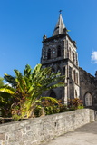 Anglican Church in Roseau Capital of Dominica  West Indies  Caribbean  Central America