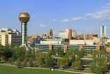 Sunsphere in World's Fair Park  Knoxville  Tennessee  United States of America  North America