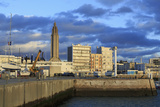 Yacht Marina in Le Havre  Normandy  France  Europe