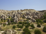 Fairy Chimneys Rock Formation Near Goreme  Cappadocia  Anatolia  Turkey  Asia Minor  Eurasia