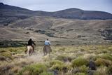 Gauchos Riding Horses  Patagonia  Argentina  South America