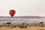 Dawn Hot Air Balloon Ride  Masai Mara National Reserve  Kenya  East Africa  Africa