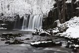 Sqwd Dsnow  Sgwd Ddwli Waterfall  Brecon Beacons  Wales  United Kingdom  Europe