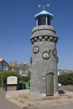 A Beacon on the Promenade in Teignmouth  Devon  England  United Kingdom  Europe