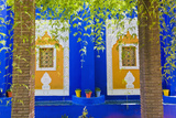 Majorelle Gardens (Gardens of Yves Saint-Laurent)  Marrakech  Morocco  North Africa  Africa