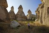 Fairy Chimneys  Cavusin  Cappadocia  Anatolia  Turkey  Asia Minor  Eurasia
