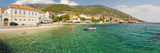 Bol Town and the Crystal Clear Adriatic Sea  Brac Island  Dalmatian Coast  Croatia  Europe