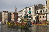 Regatta  Grand Canal  Venice  UNESCO World Heritage Site  Veneto  Italy  Europe