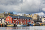 Views of the Port City of Lerwick  Shetland Islands  Scotland  United Kingdom  Europe