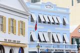 Victoria Block on Front Street in Hamilton City  Pembroke Parish  Bermuda  Central America