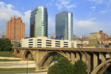 Downtown Skyline  Knoxville  Tennessee  United States of America  North America