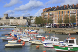 Boats in Saint Francois Quarter  Le Havre  Normandy  France  Europe