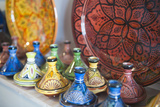 Ceramics for Sale  Essaouira  Formerly Mogador  Morocco  North Africa  Africa