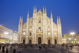 Duomo (Milan Cathedral)  Milan  Lombardy  Italy  Europe