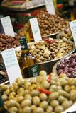 Olives Stall  Shuk Hacarmel (Carmel Market)  Tel Aviv  Israel  Middle East