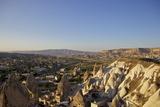 View over Goreme  Cappadocia  Anatolia  Turkey  Asia Minor  Eurasia