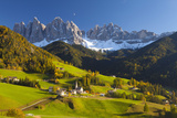 St Magdalena  Val Di Funes  Trentino-Alto Adige  Dolomites  South Tyrol  Italy  Europe