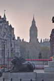 Trafalgar Square and Big Ben at Dawn  London  England  United Kingdom  Europe