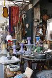 The Flea Market in Jaffa  Tel Aviv  Israel  Middle East