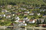 Aurlandsvangen  Aurlandsfjord  Sognefjord  Norway  Scandinavia  Europe