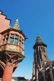Kaufhaus in Munsterplatz  Freiburg  Baden-Wurttemberg  Germany  Europe