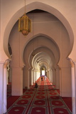 Interior of Koutoubia Mosque  Marrakech  Morocco  North Africa  Africa