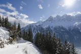 Brevant Ski Area  Aiguilles De Chamonix  Chamonix  Haute-Savoie  French Alps  France  Europe