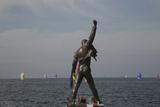Statue of Freddy Mercury  Montreux  Canton Vaud  Switzerland  Europe