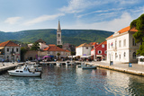 Jelsa Harbour  Hvar Island  Dalmatian Coast  Adriatic  Croatia  Europe